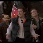 Christian De Sica, Angelo Bernabucci, Maurizio Mattioli, Paolo Conticini e Massimo Boldi – In Aeroporto (dal film: Vacanze di Natale 95)